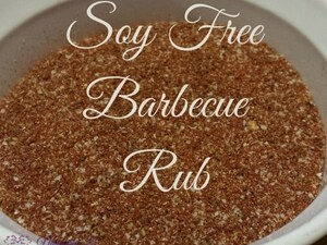 Soy Free Barbecue Rub