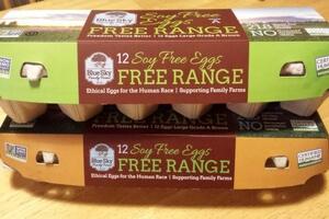 Soy Free Eggs from Blue Sky Farms-naturallyliz.com