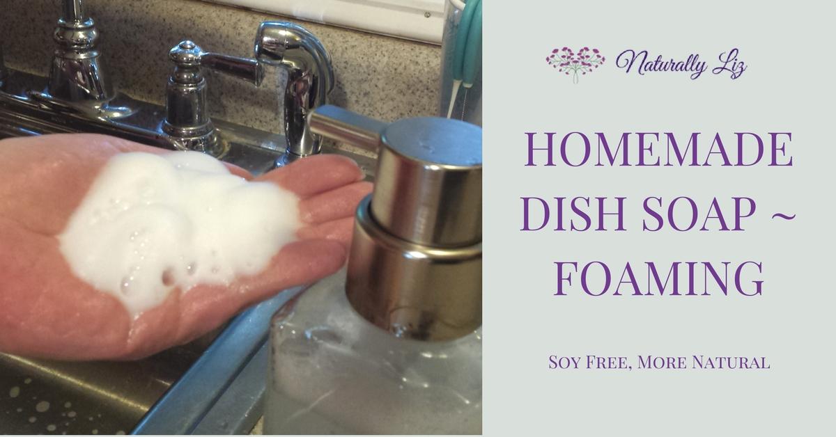 Foaming Dish Soap