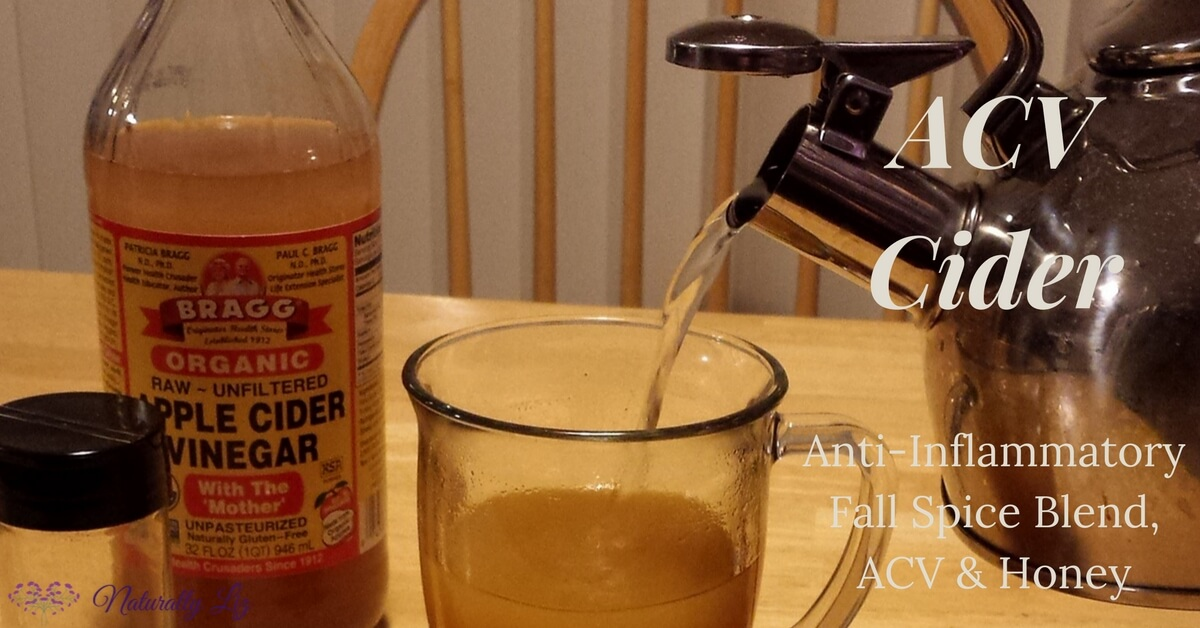 ACV Cider with Anti-Inflammatory Fall Spice Blend, ACV, and Honey