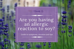 Allergic reaction to soy? find out more at naturallyliz.com