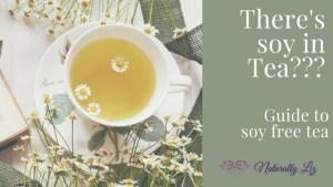 Soy in Tea???