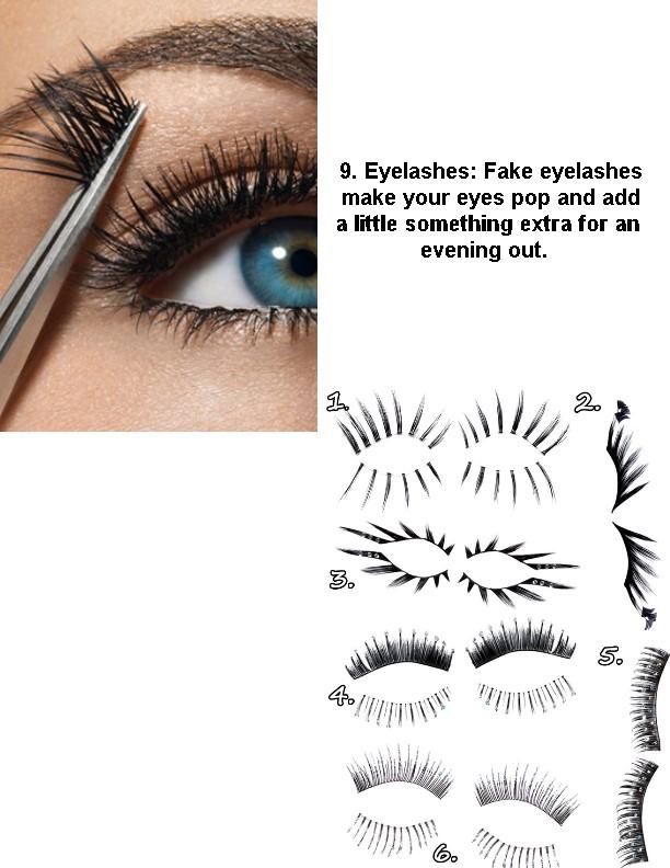 9 lashes