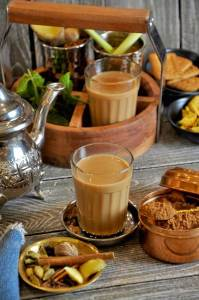 Spiced with cardamom, cinnamon, and cloves, this classic Indian Masala Chai (Spiced Tea) is the best start to a chilly fall morning! Pair it with some biscuits or a small pastry for a super relaxing morning!