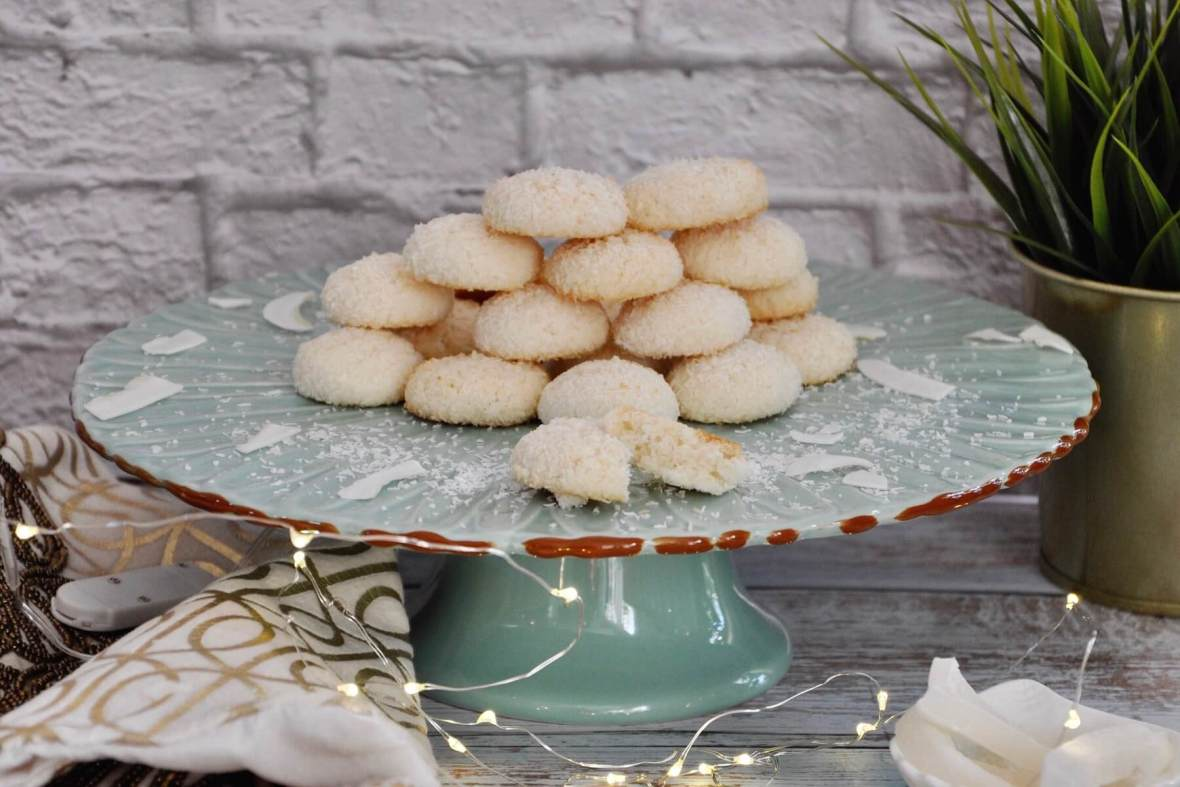 Baked to golden brown perfection with a fluffy texture, these Toasted Coconut Cookies are the perfect holiday treat! Enjoy them as a light dessert and savor the subtle sweetness and delicious coconut flavor!
