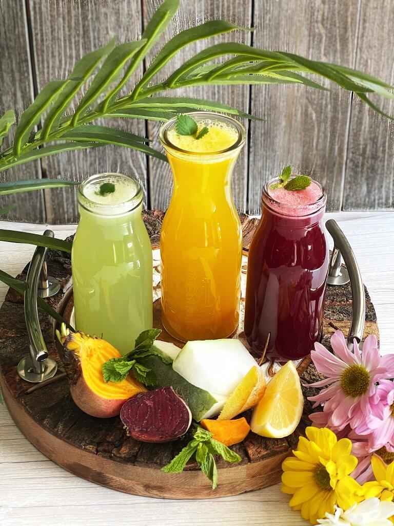 Tri-Color Winter Melon (Ash Gourd) Juice