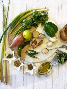 Homemade-Thai-Green-Curry-Paste