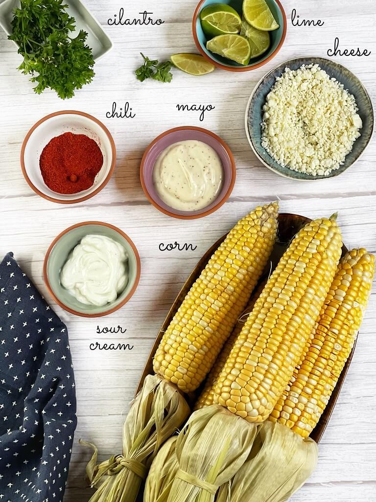 Elotes Mexican Street Corn