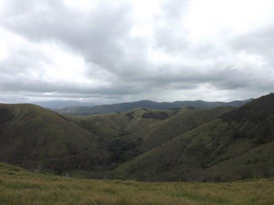 Vue sur la vallée de Deva