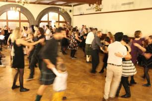 The Christmas ceilidh.