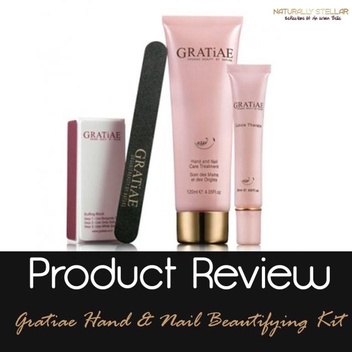 Gratiae Hand & Nail Beautifying Kit | Naturally Stellar