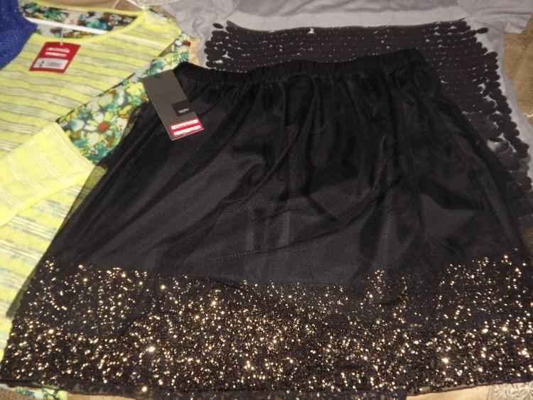 Mossimo Skirt. Sale. Target. Sheer. Bronze