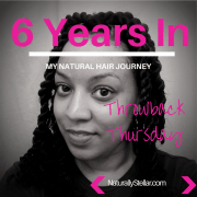 Throwback Thursday: 6 Years Natural...Young & Carefree