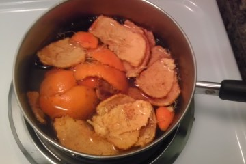 Citrus. Cinnamon. Potpourri. Stove. Pot. Easy. DIY