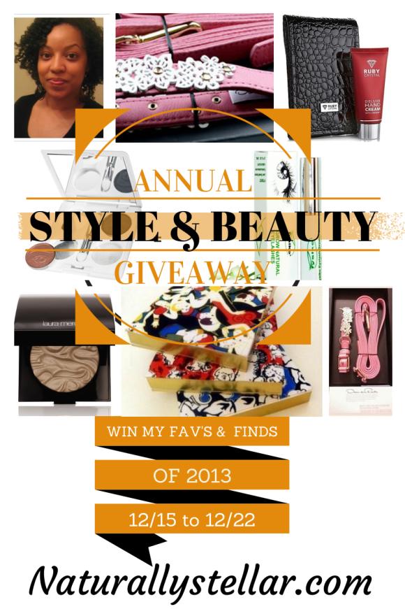 naturallystellar, beauty, style, giveaway, 2013