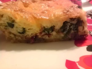 Spinach, Bacon, Quiche, naturally Stellar, recipe