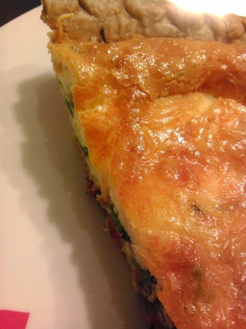 Sliced Quiche