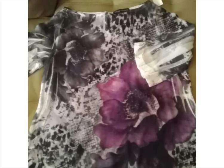 Thrifty Thursday, Fashion, Blouse, Floral, Hi Lo, Sheer, Goodwill, Naturally Stellar, Spring, Fashionista