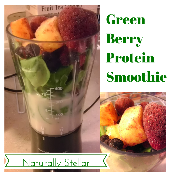 Green Berry Protein Smoothie