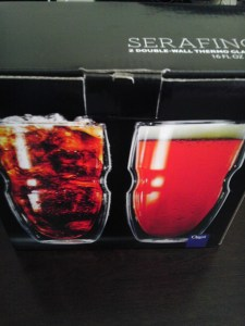 Serafino, Ozeri, Product Review, Double Wall Glasses, Drinks, Summer, Entertaining