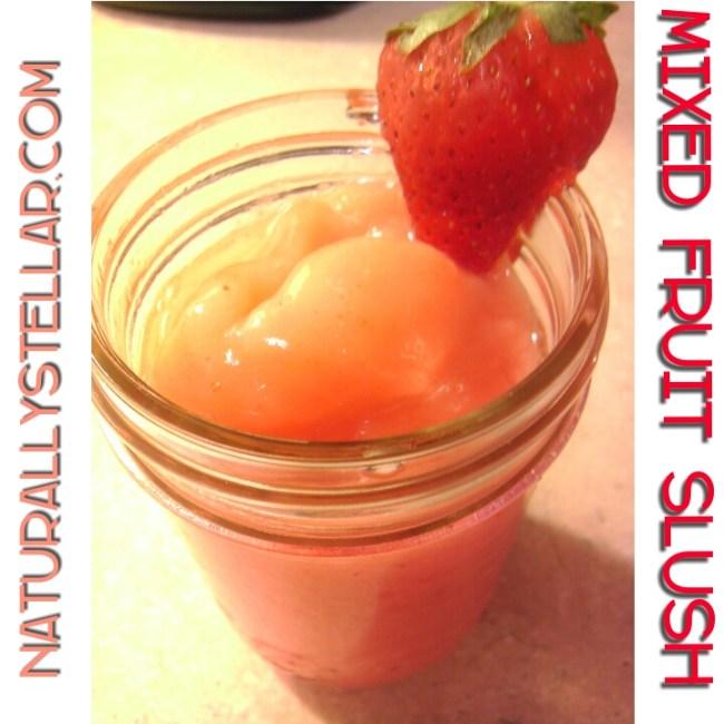 Fruit, Slush, Recipe, Apple, Frozen Fruit