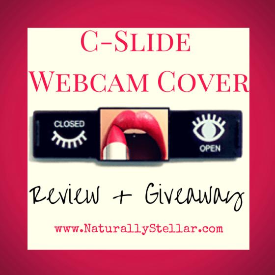 C-Slide Webcam Cover Giveaway