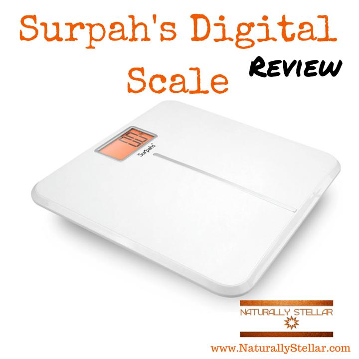 Surpahs White Wing Digital Scale
