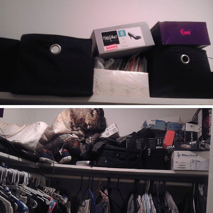 Cleaning My Closet