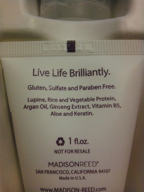 Madison Reed Shampoo Ingredients
