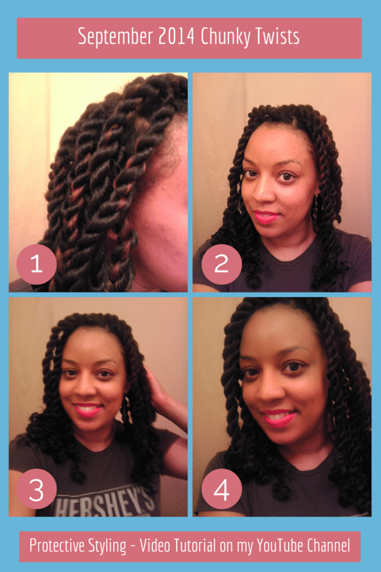 Naturally Stellar | Chunky Twists - Natural Hair