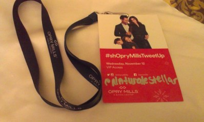 Opry Mills Winter Tweetup