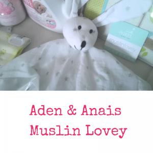 Aden & Anais Muslin Lovey   Dreft Mother's Day Giveaway   Naturally Stellar