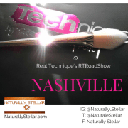 Nashville RTRoadshow |Real Techniques Bold Metals Collection