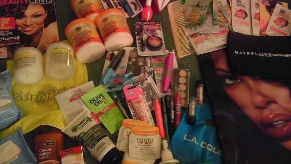 Samples from A Day of Beauty - Dollar General