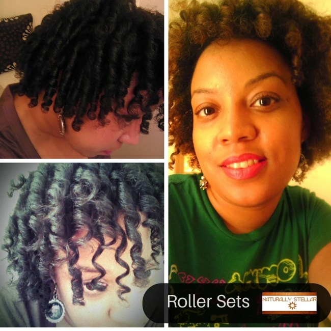 Roller Sets - Easy Postpartum Hairstyles