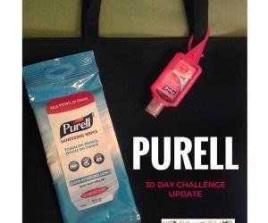 #PURELL 30 Day Challenge Update | Naturally Stellar #ShakeOnIt #ad