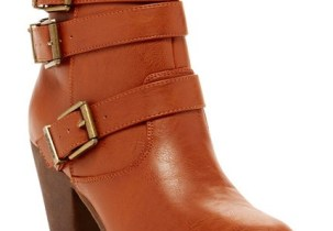 Camel Leather Ankle Boots | 2015 Urban Belle Holiday Guide
