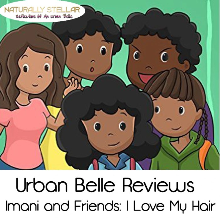 Urban Belle Reviews   Imani and Friends: I Love My Hair http://wp.me/p3XAVE-24n #Kids #Family
