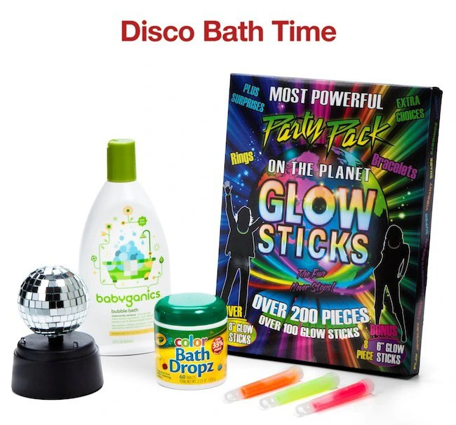 Disco Bath Time Wonderpack by Target | Naturally Stellar