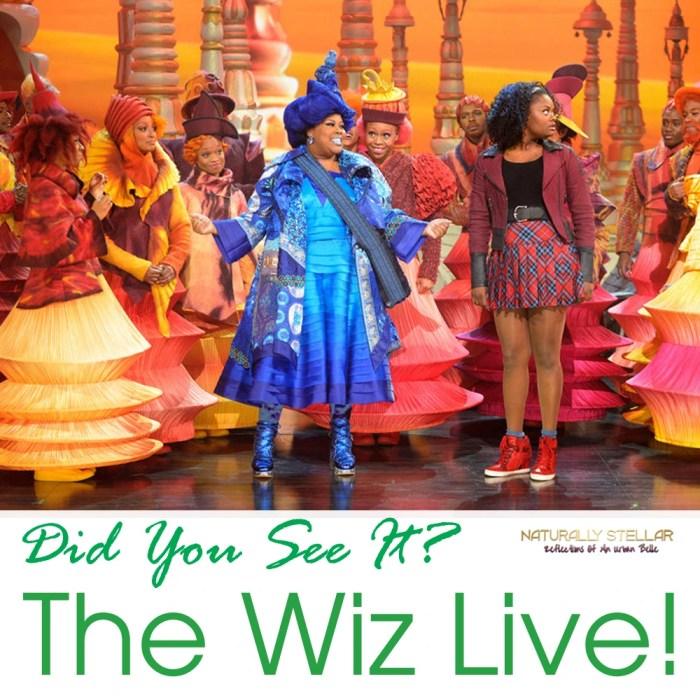 The Wiz Live --Photo by: Virginia Sherwood/NBC | Naturally Stellar