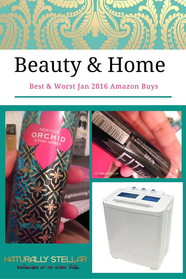 Amazon Beauty and Home January 2016 | Naturally Stellar