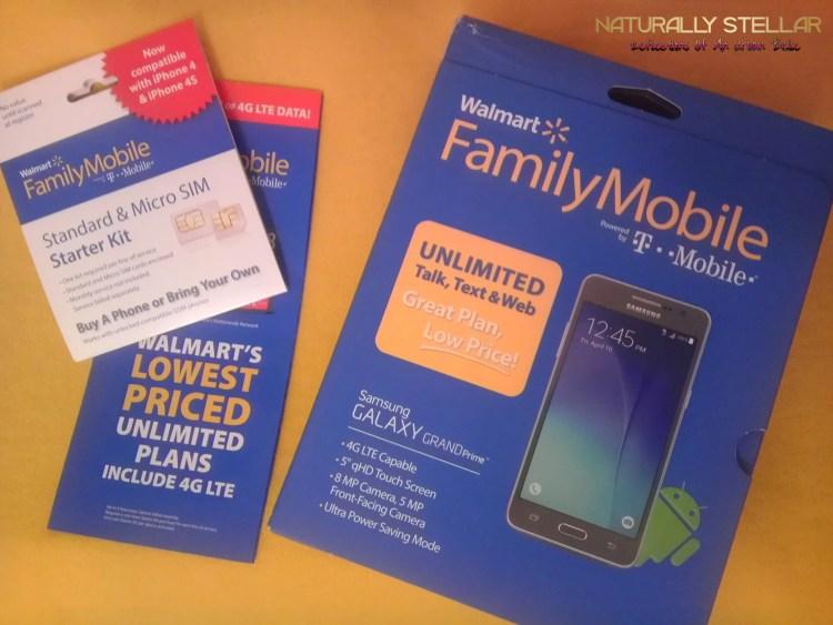 Walmart Family Mobile Plus Phone and Sim Starter Kit | Naturally Stellar