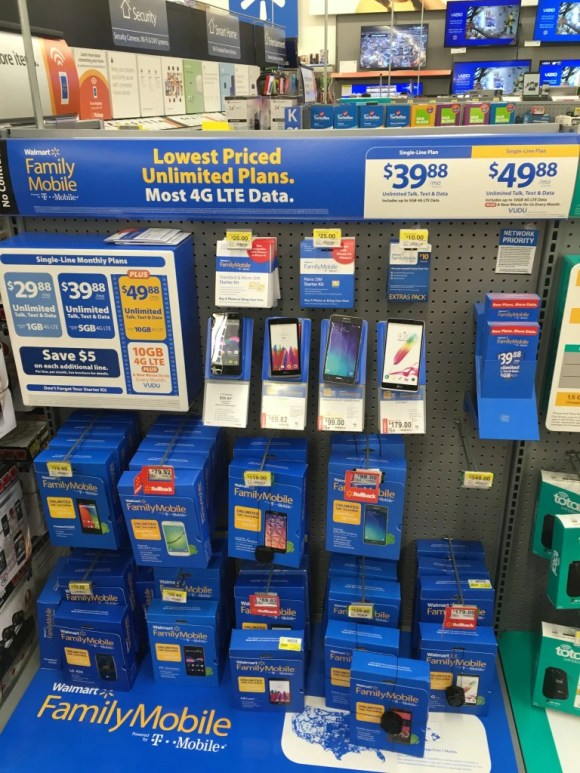 Walmart Familu Mobile Store Display | Naturally Stellar