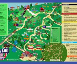 Lucky Ladd Farms Map | Naturally Stellar