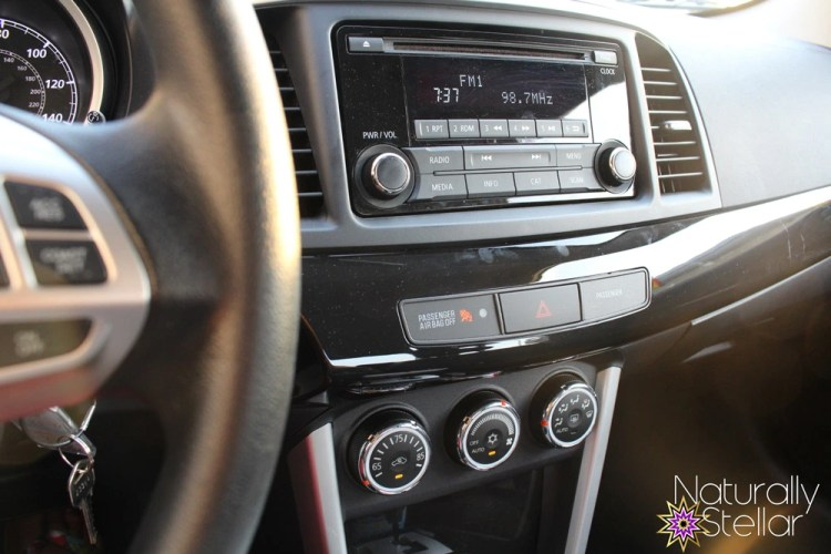Mitsubishi Lancer 2016 Review - Inside Dash | Naturally Stellar