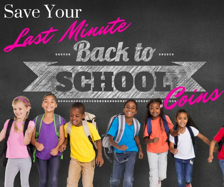 Save Back To School Coins Cover