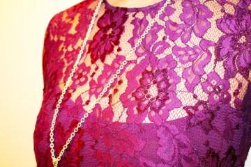 Cynthia Rowley Purple Lace Romper   Rent the Runway   Naturally Stellar