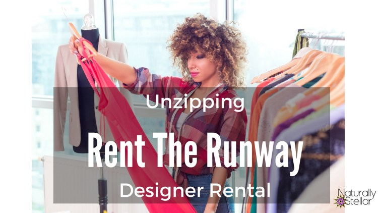 Rent The Runway designer rental | Naturally Stellar