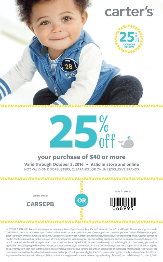 Carters Baby Fashion Fall Essentials| Naturally Stellar