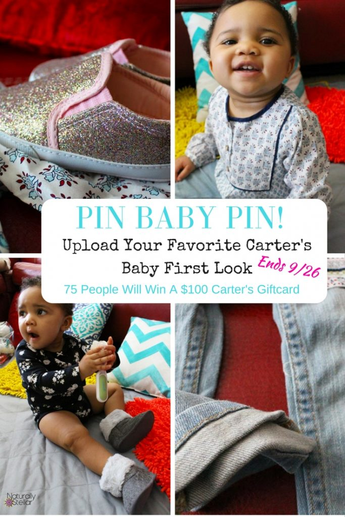 Carter's Baby Clothes Contest | Naturally Stellar